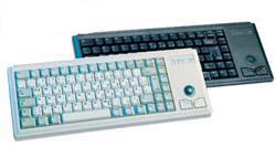 Cherry G84-4420LPBEU-0 Ultraslim Keyboard with Trackball