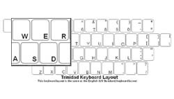 Trinidad Language Keyboard Labels