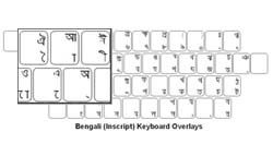 Bengali Language Keyboard Labels