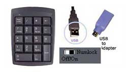 Genovation Micropad 631 Numeric Keypad - USB & PS/2 Connecto