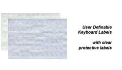 User Definable Keyboard Labels