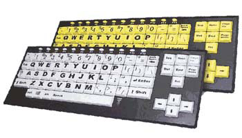 VisionBoard 2 Large Key - Large Print Keyboard