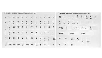 Alpha Numeric Replacement Keyboard Labels