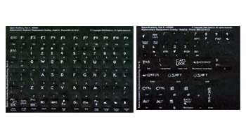 Classy Keyboards Space Academy Keyboard Labels
