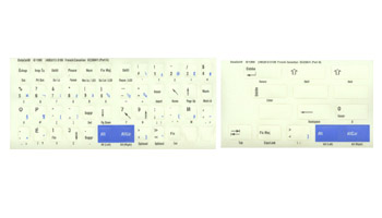 French Canadian Opaque Keyboard Labels