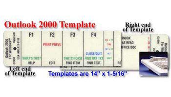 Microsoft Outlook 2000 Stack Template