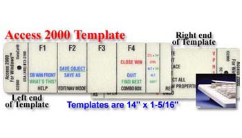 Microsoft Access 2000 Stack Template