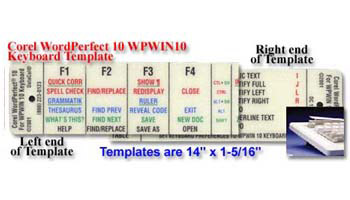 Corel WordPerfect 10 Stack Template