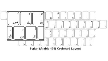Syrian (Arabic) Language Keyboard Labels