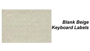 Beige Data Cover Keyboard Labels